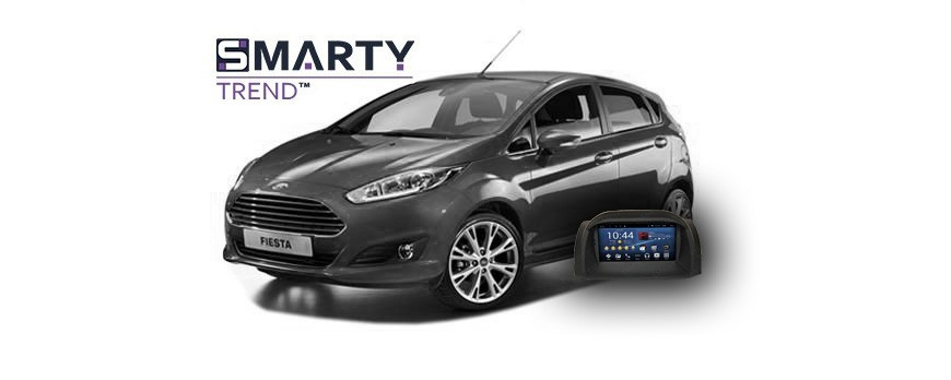 Example of installed SMARTY Trend Entertainment Multimedia in FORD FIESTA