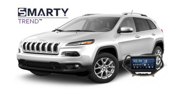 Example of installed SMARTY Trend Entertainment Multimedia in JEEP CHEROKEE 2017