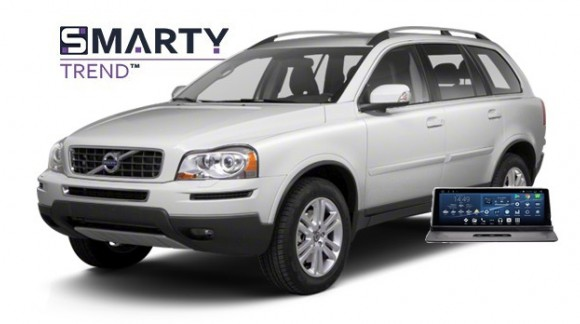 Example of installed SMARTY Trend Entertainment Multimedia in VOLVO XC90 2012