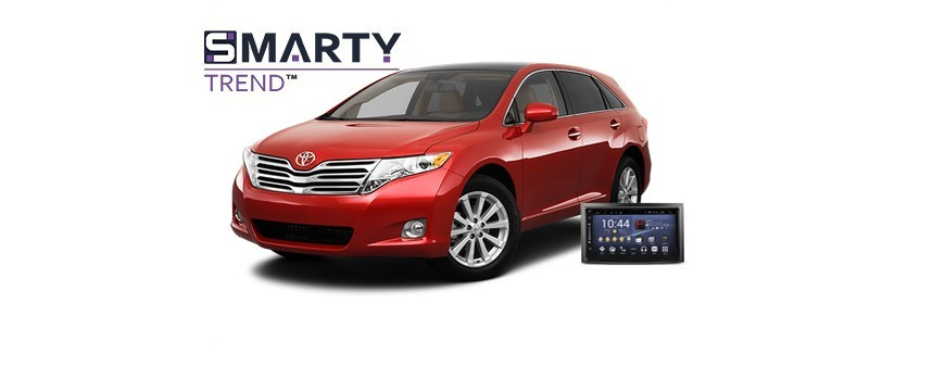 Example of installed SMARTY Trend Entertainment Multimedia in TOYOTA VENZA