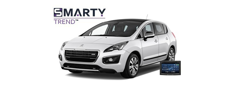 Example of installed SMARTY Trend Entertainment Multimedia in PEUGEOT 3008