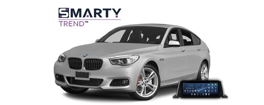 Example of installed SMARTY Trend Entertainment Multimedia in BMW 5 GT (F07)