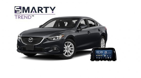 Example of installed SMARTY Trend Entertainment Multimedia in MAZDA 6 2013