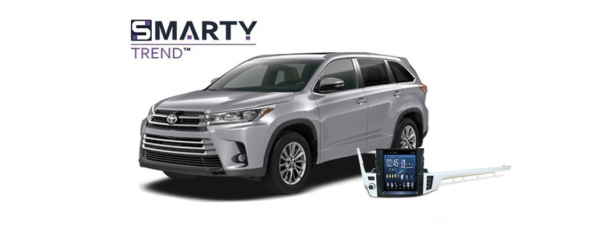 Example of installed SMARTY Trend Entertainment Multimedia in TOYOTA HIGHLANDER