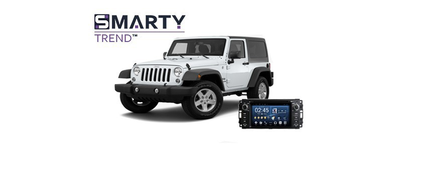 Example of installed SMARTY Trend Entertainment Multimedia in JEEP WRANGLER