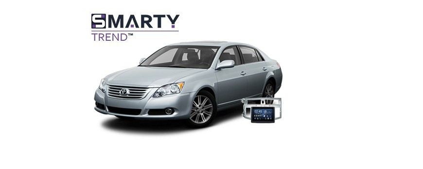Example of installed SMARTY Trend Entertainment Multimedia in TOYOTA AVALON