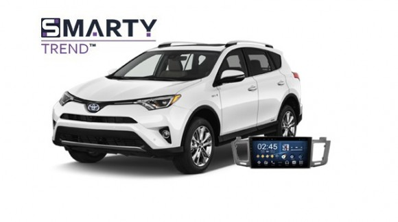 Example of installed SMARTY Trend Entertainment Multimedia in TOYOTA RAV4