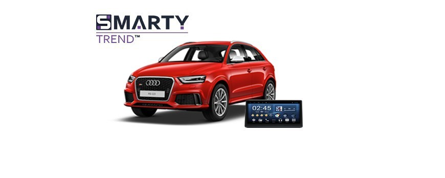 Example of installed SMARTY Trend Entertainment Multimedia in AUDI RS Q3