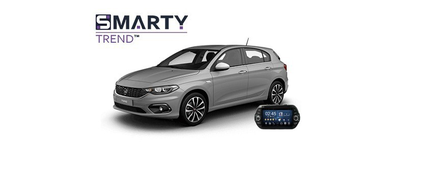 Example of installed SMARTY Trend Entertainment Multimedia in Fiat Tipo