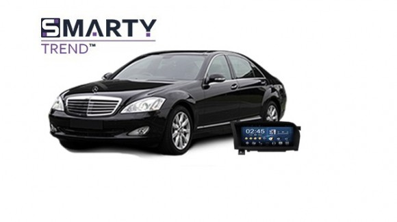 Example of installed SMARTY Trend Entertainment Multimedia in MERCEDES BENZ S-CLASS (W221)