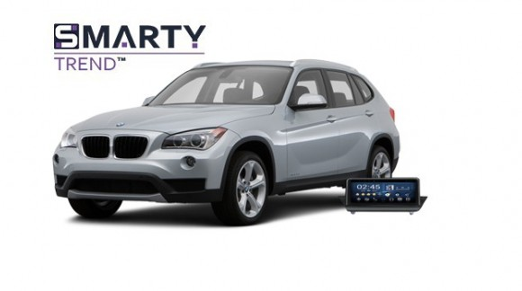 Example of installed SMARTY Trend Entertainment Multimedia in BMW X1