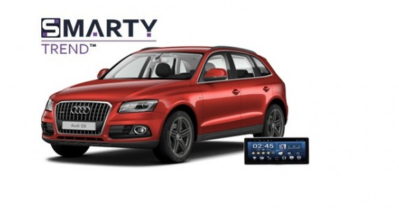 Example of installed SMARTY Trend Entertainment Multimedia in AUDI Q5 2016