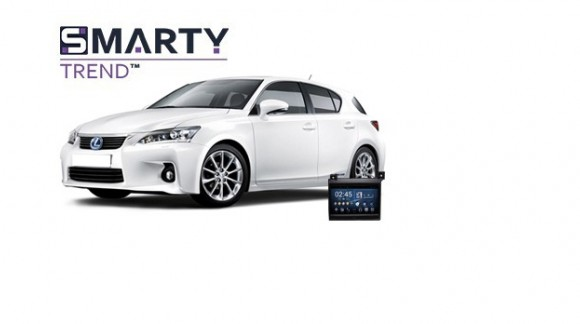 Example of installed SMARTY Trend Entertainment Multimedia in LEXUS CT 200