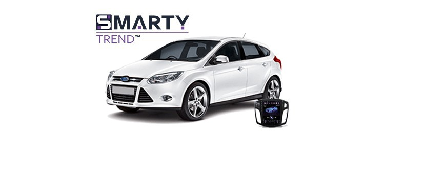 Example of installed SMARTY Trend Entertainment Multimedia in Ford Focus III