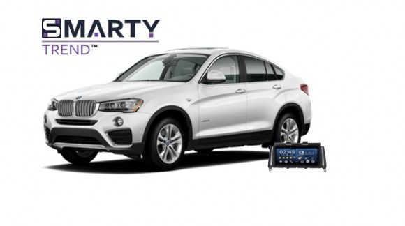 Example of installed SMARTY Trend Entertainment Multimedia in BMW X4 (F26)