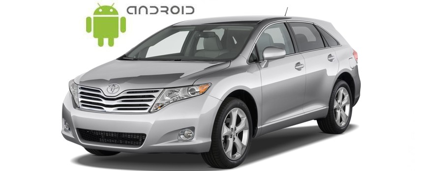 Toyota Venza Android in-dash Car Stereo Navigation head unit - SMARTY Trend