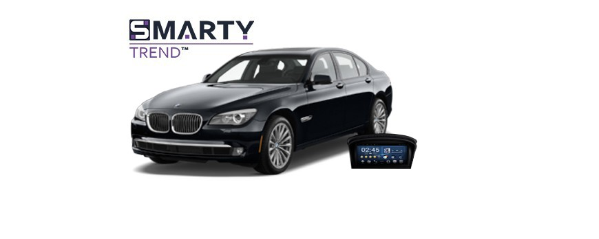 Example of installed SMARTY Trend Entertainment Multimedia in BMW E60