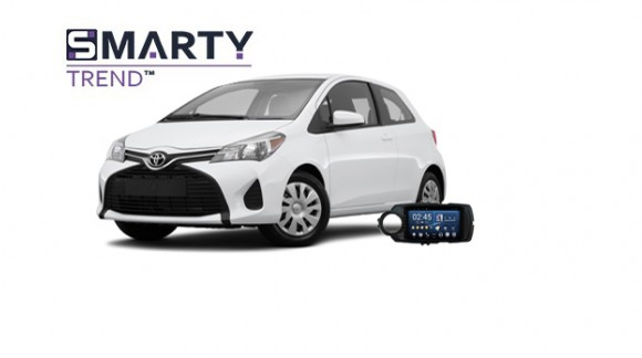 Example of installed SMARTY Trend Entertainment Multimedia in Toyota Yaris
