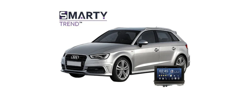 Example of installed SMARTY Trend Entertainment Multimedia in Audi A3