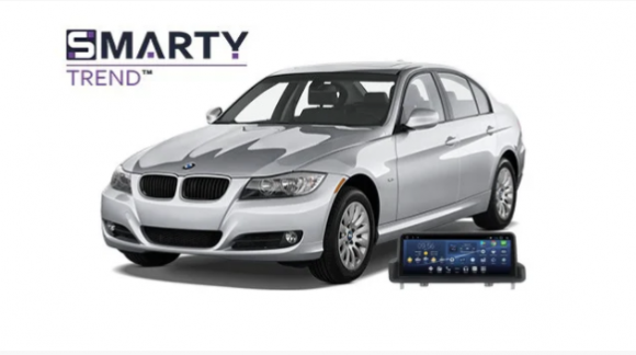 Example of installed SMARTY Trend Entertainment Multimedia in BMW 318i (E90)