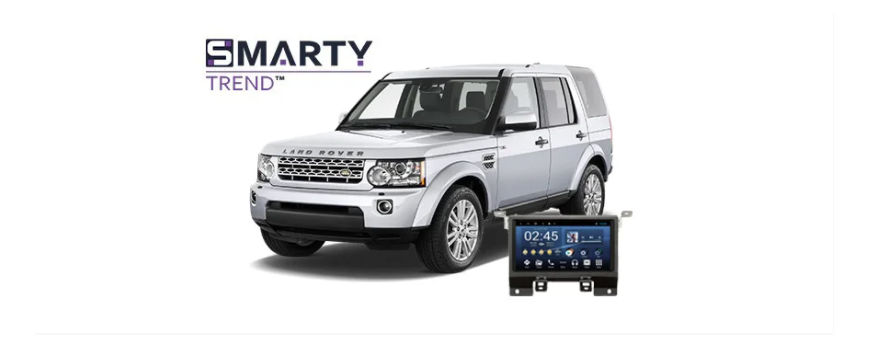 Example of installed SMARTY Trend Entertainment Multimedia in Land Rover Discovery 4