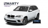 Example of installed SMARTY Trend Entertainment Multimedia in BMW E70 M