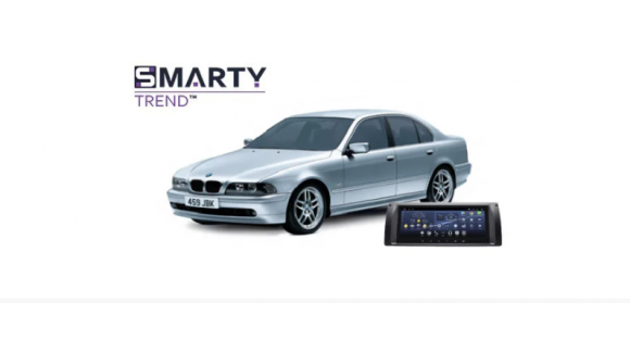 Example of installed SMARTY Trend Entertainment Multimedia in BMW 5 Series E39