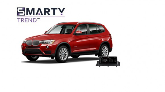 Example of installed SMARTY Trend Entertainment Multimedia in BMW X3 (F25)