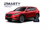 Example of installed SMARTY Trend Entertainment Multimedia in Mazda CX-5