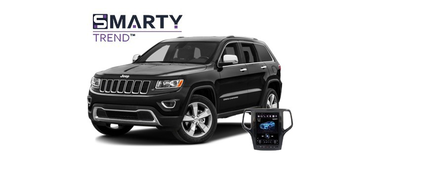 Example of installed SMARTY Trend Entertainment Multimedia in Jeep Grand Cherokee