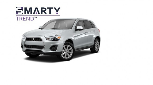 Example of installed SMARTY Trend Entertainment Multimedia in Mitsubishi ASX