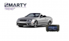 Example of installed SMARTY Trend Entertainment Multimedia in Mercedes-Benz CLK-Class (W209)