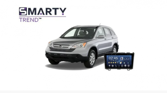 Example of installed SMARTY Trend Entertainment Multimedia in Honda CR-V