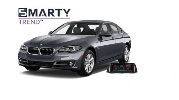 Example of installed SMARTY Trend Entertainment Multimedia in BMW 5 Series (F10)