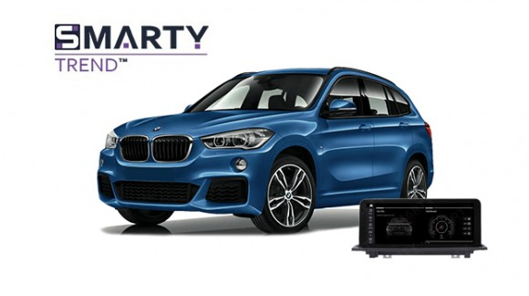 Example of installed SMARTY Trend Entertainment Multimedia in BMW X1 SERIES F48 2017
