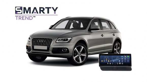 Example of installed SMARTY Trend Entertainment Multimedia in Audi Q5 2013