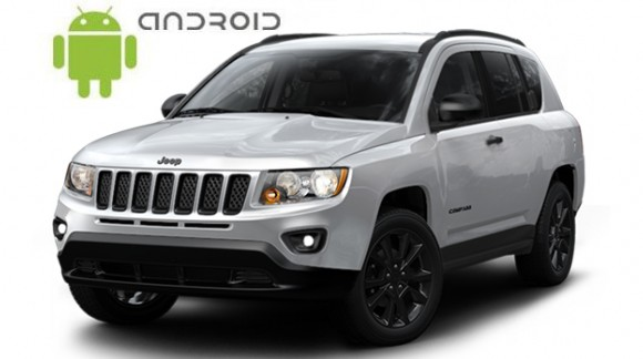 Jeep Compass Android in-dash Car Stereo Navigation head unit - SMARTY Trend