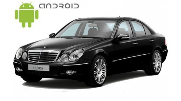 Mercedes E-Class (w211) Android in-dash Car Stereo Navigation head unit - SMARTY Trend