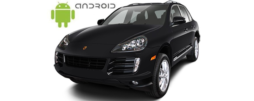 Porsche Cayenne Android in-dash Car Stereo Navigation head unit - SMARTY Trend