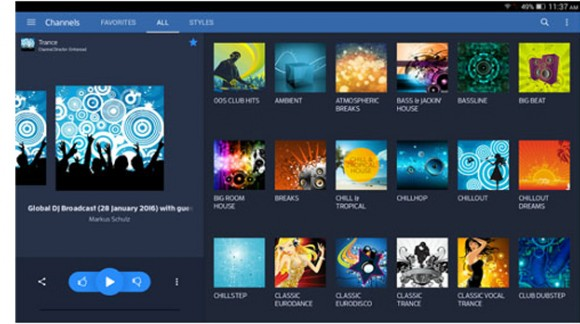 Digitally Imported - internet radio service of exclusive electronic music for SMARTY Trend head units