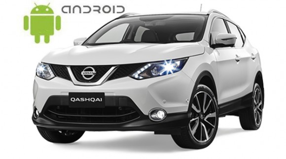 Nissan Qashqai 2014+ Android in-dash Car Stereo Navigation head unit - SMARTY Trend