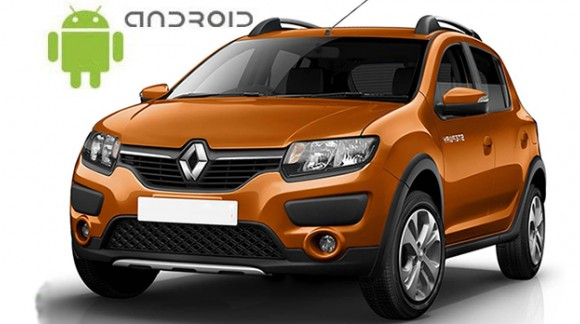 Renault Sandero Stepway II 2014-2016 Android in-dash Car Stereo Navigation head unit - SMARTY Trend
