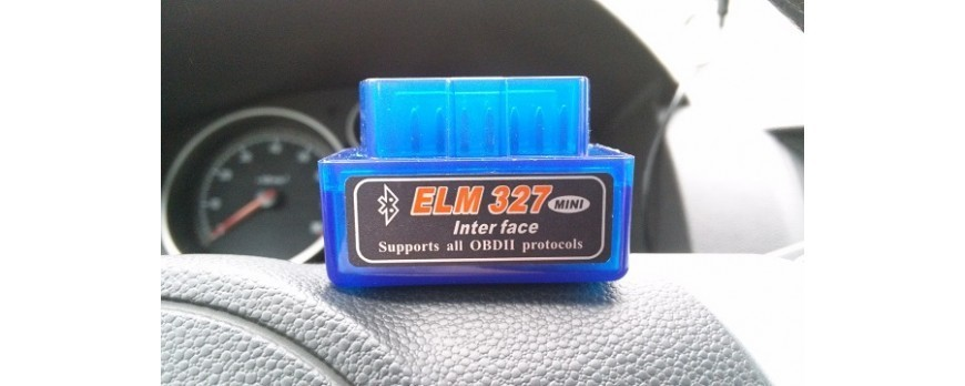 Connecting Bluetooth adapter ELM 327 (protocol OBD-II) to the SMARTY Trend head unit