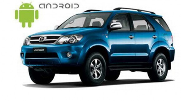 SMARTY Trend Entertainment Multimedia for Toyota Fortuner