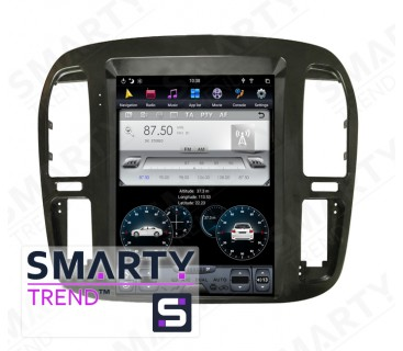 Toyota Land Cruiser 100 - Tesla Style Android Car Stereo Navigation In-Dash Head Unit