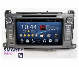 Toyota Sienna Android Car Stereo Navigation In-Dash Head Unit