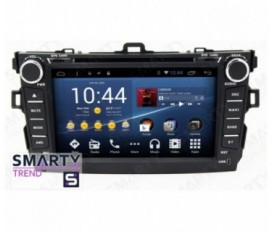 Toyota Corolla 2007-2013 Android Car Stereo Navigation In-Dash Head Unit