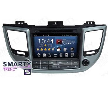 Hyundai Tucson 2016 Android Car Stereo Navigation In-Dash Head Unit