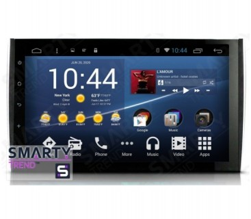 Porsche Cayenne Android Car Stereo Navigation In-Dash Head Unit