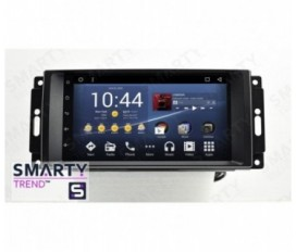 Jeep Compass Android Car Stereo Navigation In-Dash Head Unit